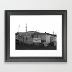 Farmstad Framed Art Print