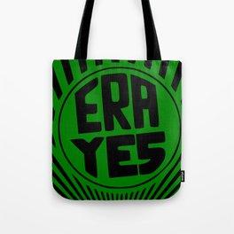 ERA YES - Green and Black Tote Bag