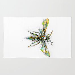 Insect Series - Hornet Rug