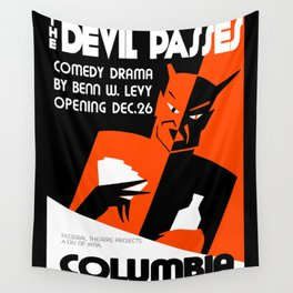 The Devil Passes Wall Tapestry