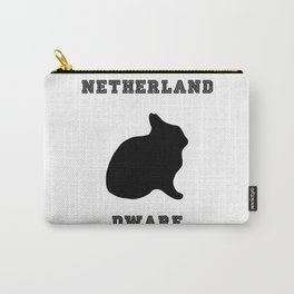 Netherland Dwarf Print Carry-All Pouch