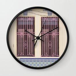 Havana Windows Wall Clock