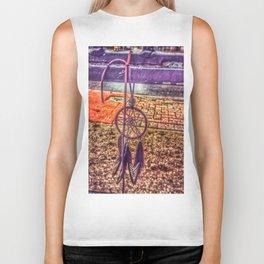 Mandala Dream Catcher Biker Tank