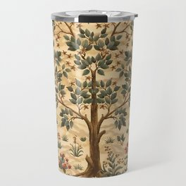 "William Morris ""Tree of life"" 3. Travel Mug"