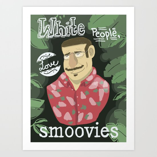 why watch (workaholics) Art Print