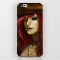 ruby iPhone & iPod Skins featuring Ruby by PiccolaRia