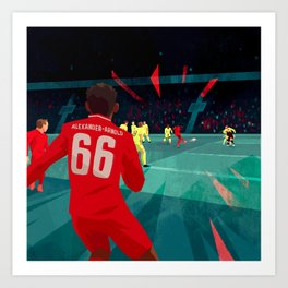 Miracle of Anfield Art Print
