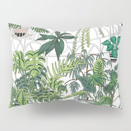 greenhouse illustration Pillow Sham