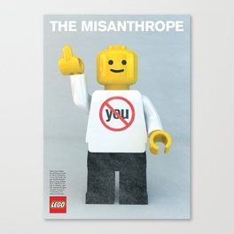 The Misanthrope Canvas Print
