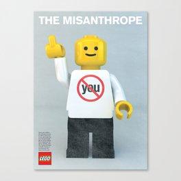 The Misanthrope Canvas Print