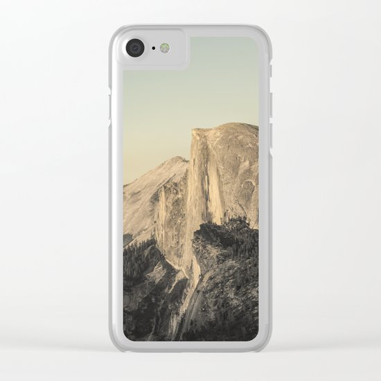 Half Dome IV Clear iPhone Case