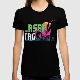 Tag Game Team Laser Guns Fire Shooting Infrared Beam Gift Laser Tag Girl T-shirt