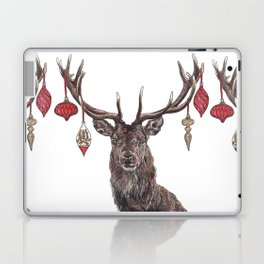 Stag with Baubles Laptop & iPad Skin
