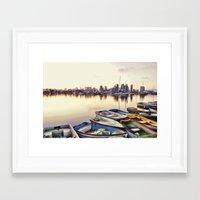 san diego Framed Art Prints featuring San Diego by LMFK