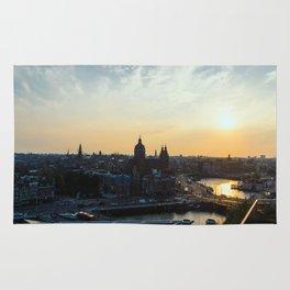 Amsterdam at Sunset Rug