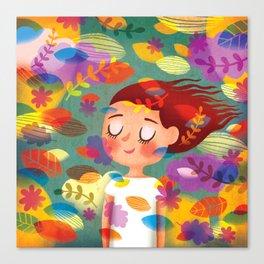 Hello Autmn! Canvas Print