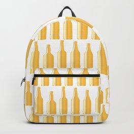 Golden Beer Bottles Backpack