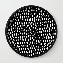 dottie in reverse Wall Clock