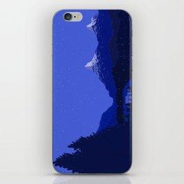 The Night Lake iPhone Skin