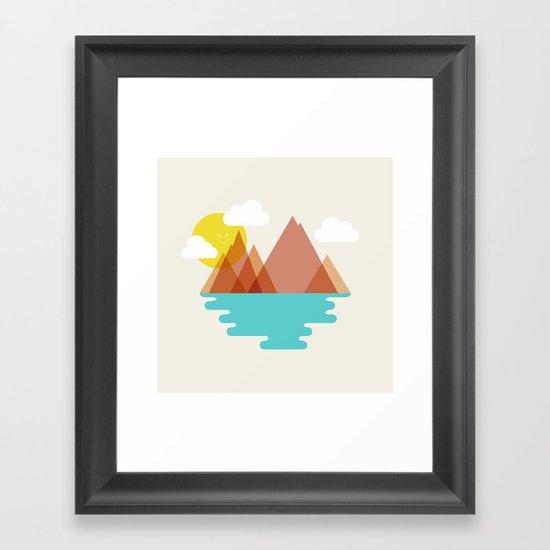 August Framed Art Print