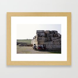 Mode of Transport Framed Art Print