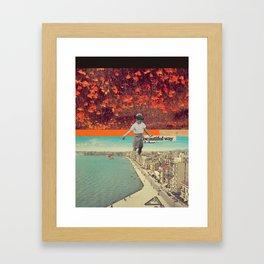 Beautiful Way Framed Art Print