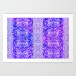 Dark bluish Art Print