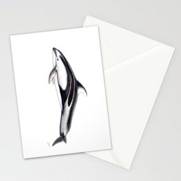 Pacific white-sided dolphin Stationery Cards