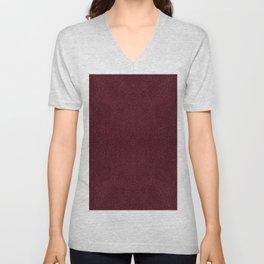 Red leather sheet background Unisex V-Neck