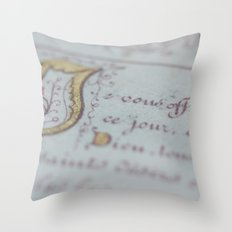 Offer Throw Pillow