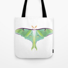 Luna Moth - Digital Illustration Tote Bag