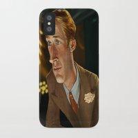ryan gosling iPhone & iPod Cases featuring Ryan Gosling by Khasis Lieb