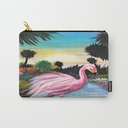 Flamingos Paradise Carry-All Pouch