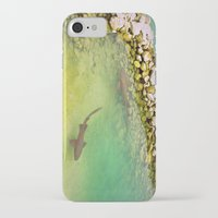sharks iPhone & iPod Cases featuring Sharks by FortuneArt&Photography