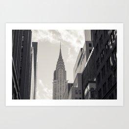 The Chrystler Building Art Print