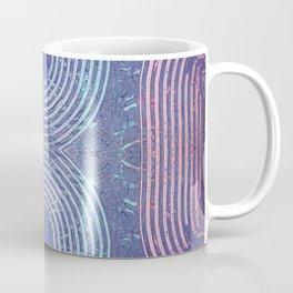 Streaks & Curves Abstract Paint Strokes Coffee Mug