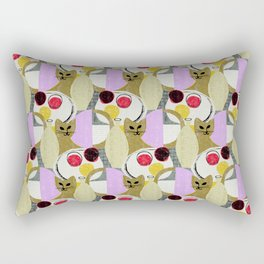 Still Life with Cat Rectangular Pillow
