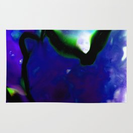 Abstract Bliss 2J by Kathy Morton Stanion Rug