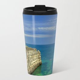 Chapel on the cliffs, Portugal Travel Mug