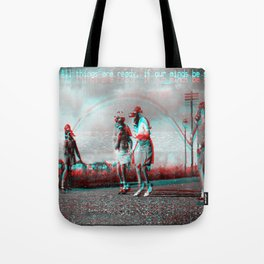 All things are ready, if our minds be so. Tote Bag