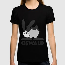 Oswald the Lucky Rabbit: The End (B/W) T-shirt