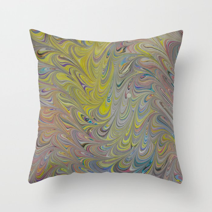 Marble Print #18 Throw Pillow