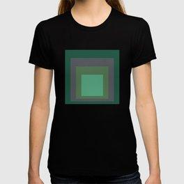 Block Colors - Greens and Grey T-shirt