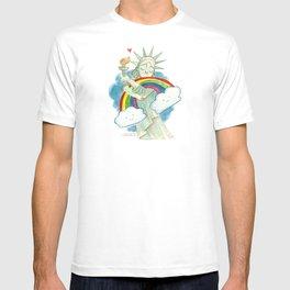 Love Wins Hug T-shirt