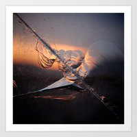cracked Art Prints featuring Cracked by Anelgim