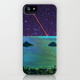 Stars in Kailua, Oahu iPhone Case