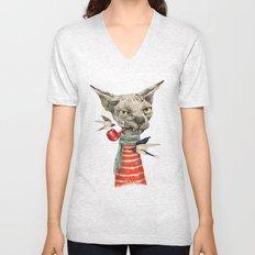 Sphynx cat Unisex V-Neck