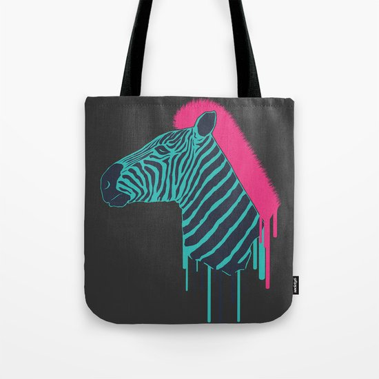 Zebra's Not Dead Tote Bag