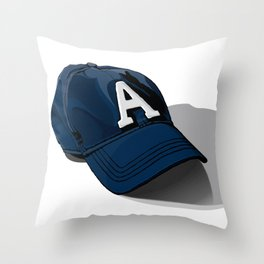 Baseball Cap Throw Pillow