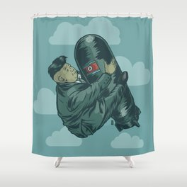 H-Bomb Kim Shower Curtain